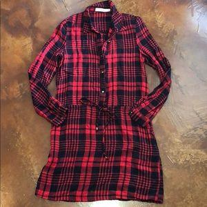 Carminn Flannel Dress